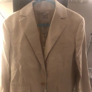 NWT Salvatore Ferragamo Jacket with lack up back